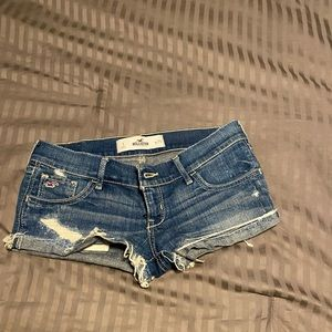 Hollister Jean Shorts - Size 1/Waist 25